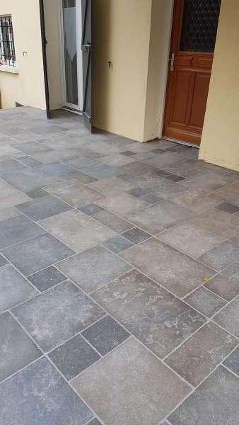 Dallage en pierre naturelle c dre gray gris cendr e for Dallage en pierre naturelle
